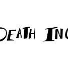 Death Inc. Logo (Black) by notsotiny