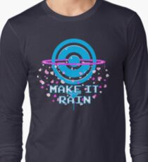 Pokemon Go - Make it Rain Long Sleeve T-Shirt