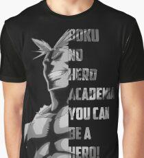 boku no hero academia Fan Art Graphic T-Shirt