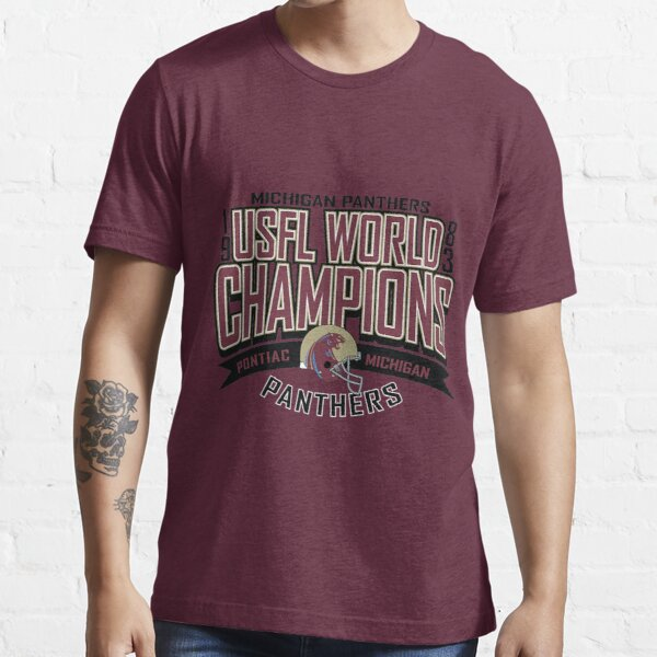Michigan Panthers 83 Champs T-Shirt Essential T-Shirt