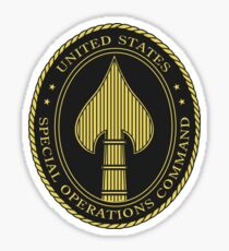 United States Special Operations Command Sticker