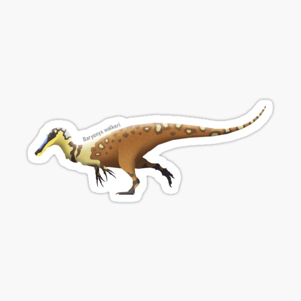 Baryonyx walkeri Sticker