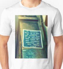 Street Poem Graffiti Unisex T-Shirt