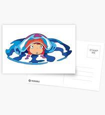Ponyo Logo Postcards