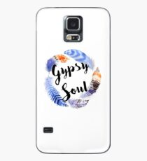 Boho Gypsy Soul Feather Wreath Case/Skin for Samsung Galaxy