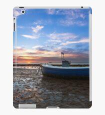 Fishing Boat Sunset iPad Case/Skin