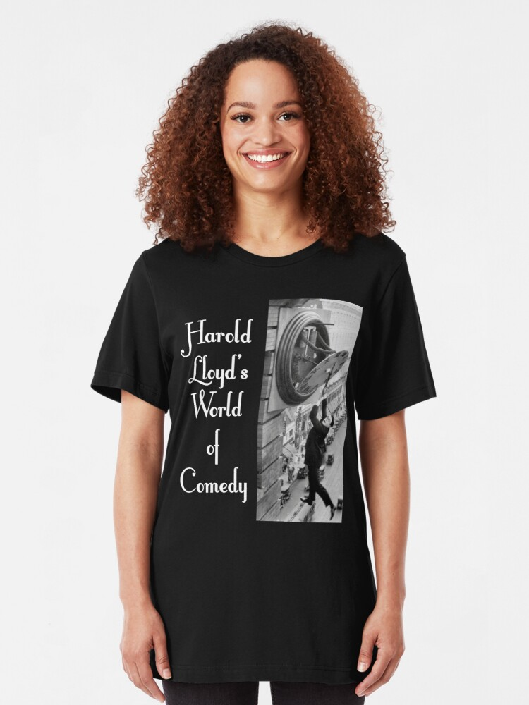 Alternate view of NDVH Harold Lloyd's World of Comedy Slim Fit T-Shirt