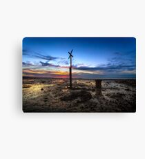 X Factor Sunset Canvas Print