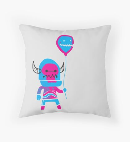 BallonBoy Throw Pillow