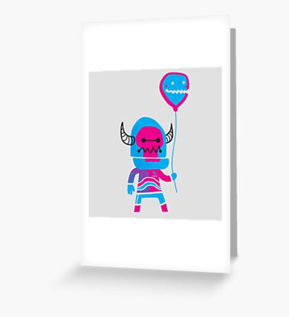 BallonBoy Greeting Card
