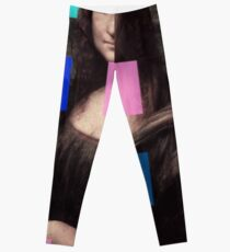 Mona Lisa Modernized Leggings