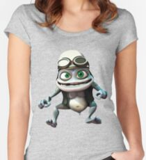 Crazy frog Women's Fitted Scoop T-Shirt