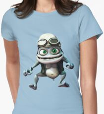 Crazy frog Women's Fitted T-Shirt
