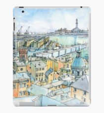 Il Porto (view of Genoa) iPad Case/Skin