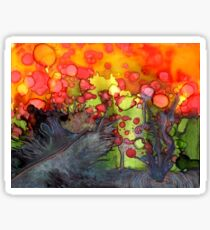 Release - Abstract Painting Sticker