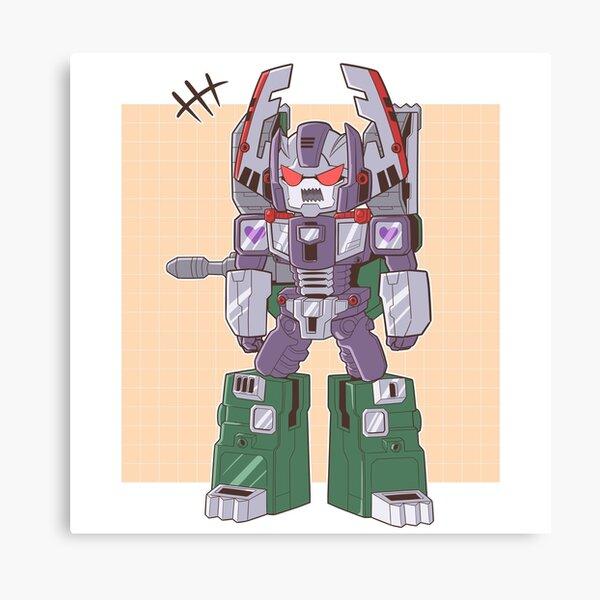 Littol Armada Megatron Canvas Print