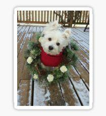Christmas Winnie Sticker