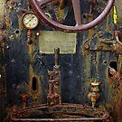 Old Buffalo In Rust by Larry Costales