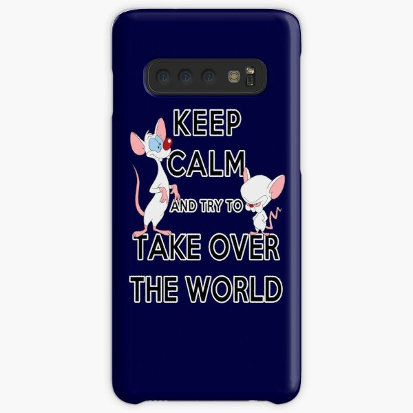 Keep Calm and Try to Take Over the World Samsung Galaxy Snap Case