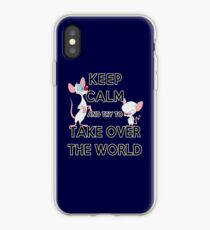 Keep Calm and Try to Take Over the World iPhone Case