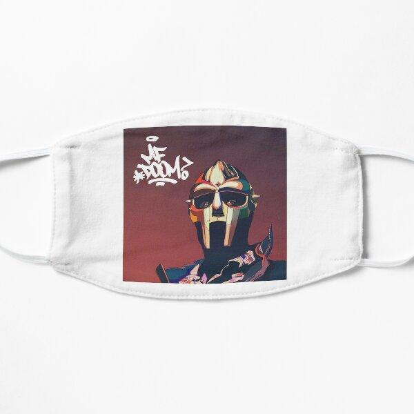 guess the doom back Flat Mask