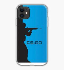 Counter strike silhouette iPhone Case