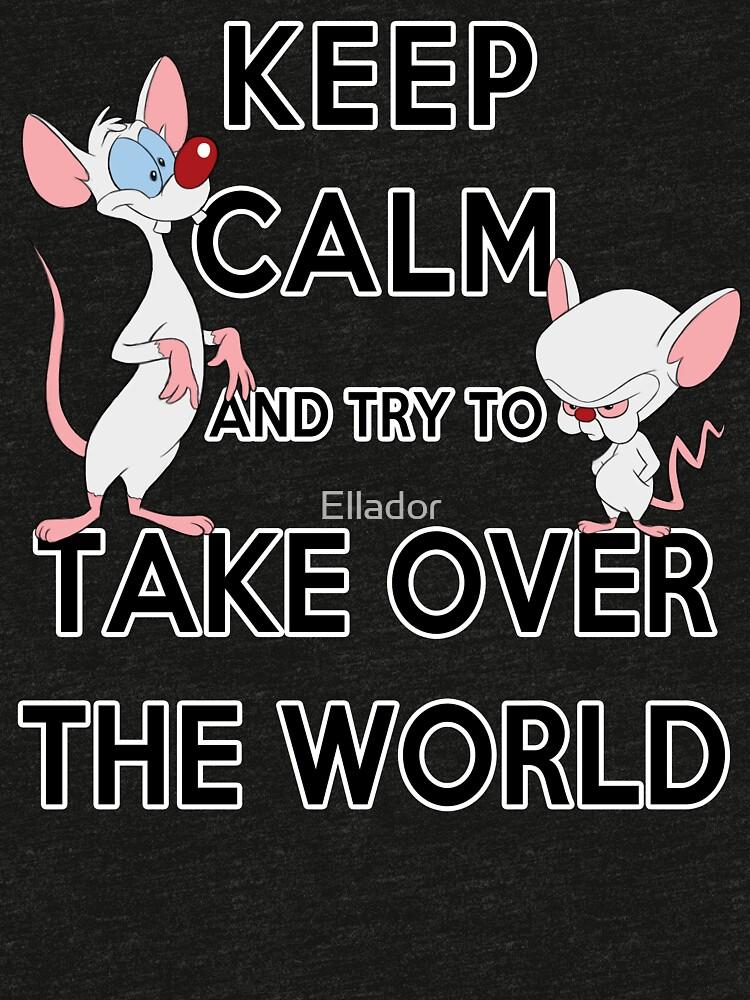 Bleib ruhig und versuche, die Welt zu erobern von Ellador