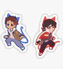 Voltron 1 Sticker