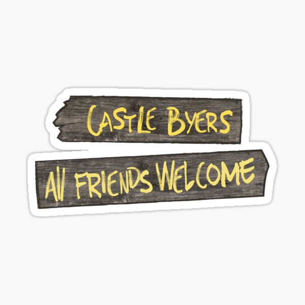 Castle Byers Sticker