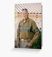 Last Son of Poncho Villa Greeting Card