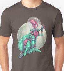 Parasaurolophus: Queen of the Galaxy Unisex T-Shirt