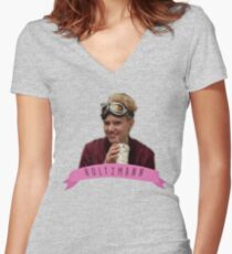 Jillian Holtzmann Women's Fitted V-Neck T-Shirt