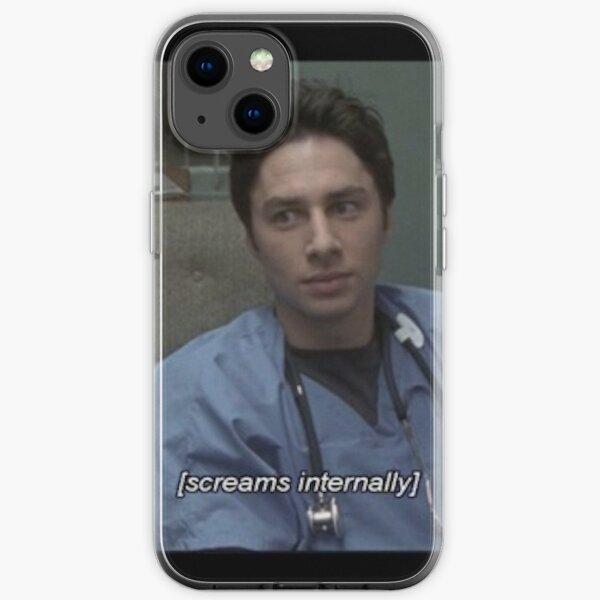 JD screams internally iPhone Soft Case