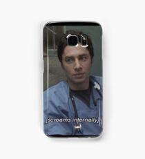 JD screams internally Samsung Galaxy Case/Skin