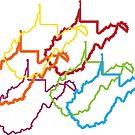 west virginia pride blur by chromatosis