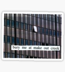 bury me at makeout creek - mitski Sticker