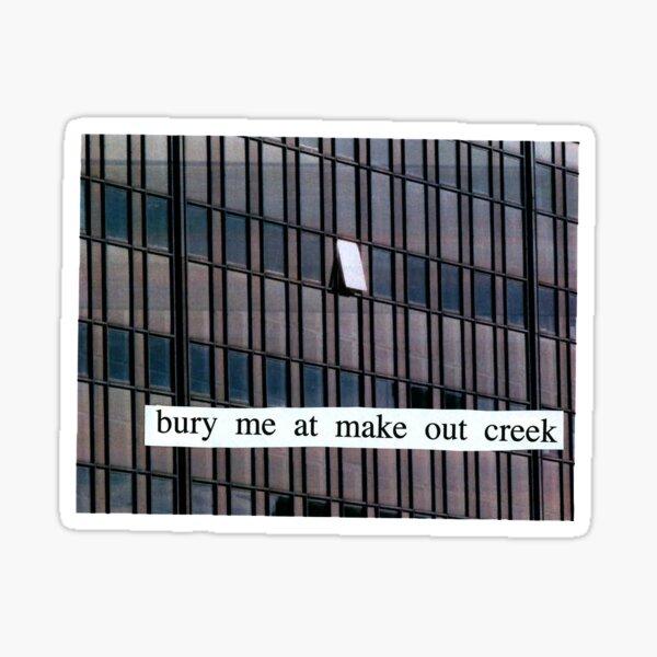 bury me at makeout creek - mitski Sticker