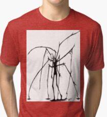 Slenderman T-shirt Tri-blend T-Shirt