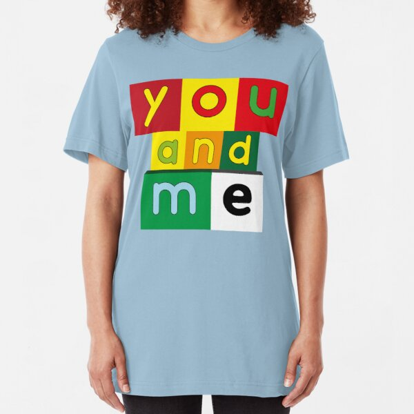 NDVH You and Me Slim Fit T-Shirt