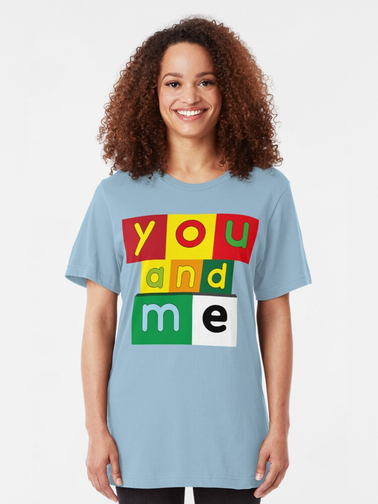 Alternate view of NDVH You and Me Slim Fit T-Shirt