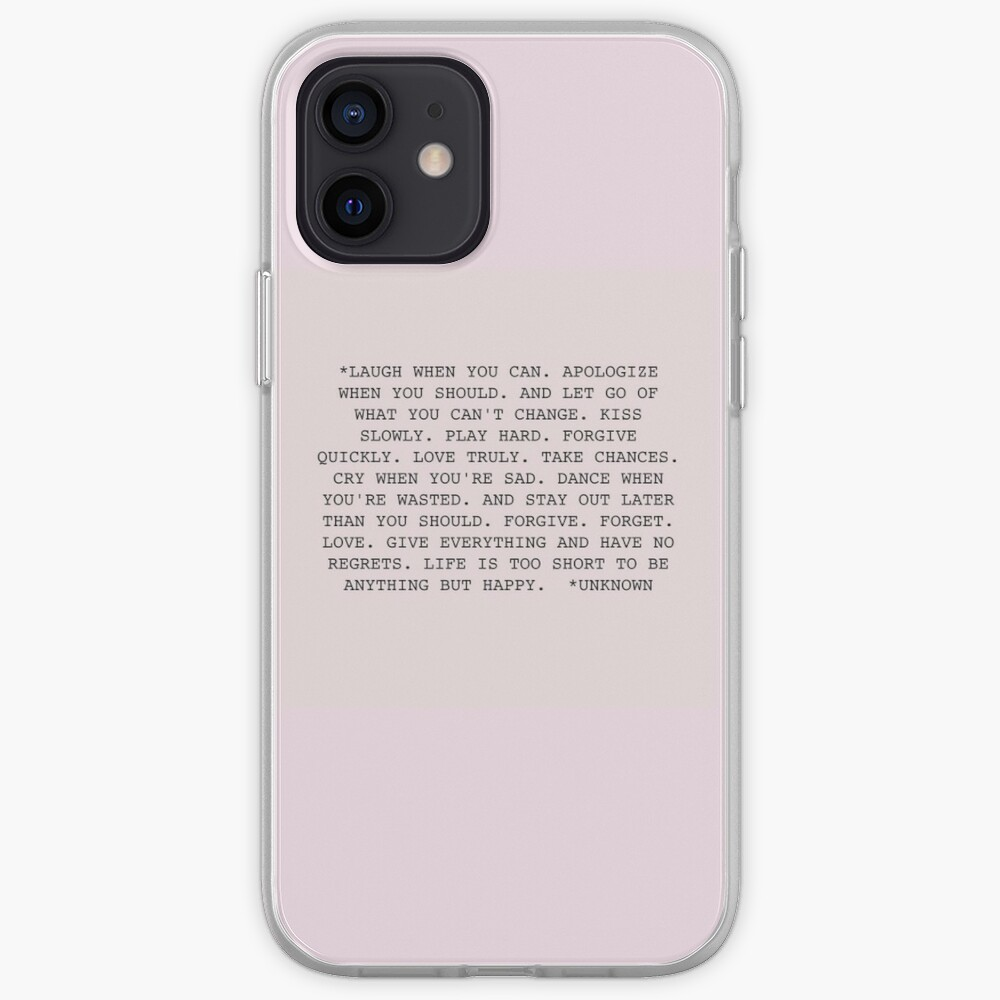 Life Quote iPhone Case & Cover
