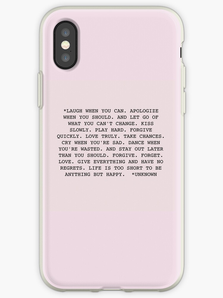 quote iphone xs case