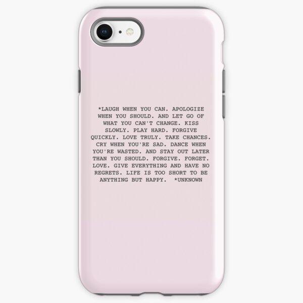 Life Quote iPhone Tough Case