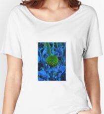 The green ball flower Women's Relaxed Fit T-Shirt