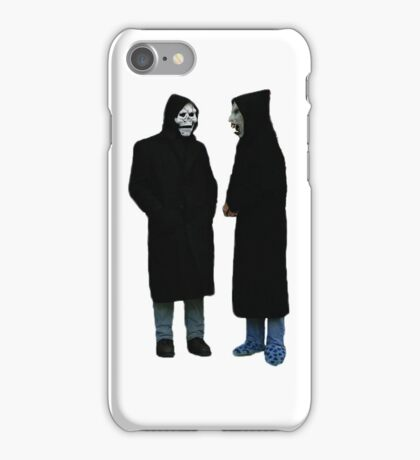 Brand New The Devil and God Are Raging Inside Me iPhone Case/Skin