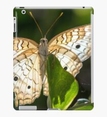 A Showy White Peacock iPad Case/Skin