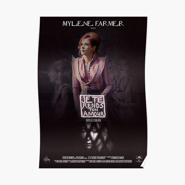 Mylène Farmer - Je Te Rends Ton Amour Poster