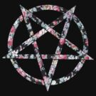 Floral Pentagram by Apocalyptopia