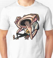 Yawning Bored Man Unisex T-Shirt
