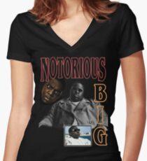 Kick In The Door Women's Fitted V-Neck T-Shirt